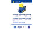 Model GWS2525 - General Waste Shredder - Brochure