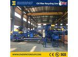 Oil Filter Shredding Line