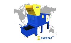 Enerpat - Model HDS-5000 - Rubbish shredder