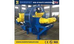 Enerpat - Model MSB-30 - Fruit and Vegetable Waste Shredder