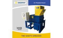 ENERPAT - Model MSB-11 - Lab Scale E-Waste Shredder