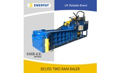 Enerpat - Model EE100S - Double Compression UBC Cans Baler