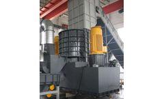 Enerpat - Model EHS5000 - Vertical Scrap Metal Shredder