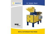 Enerpat - Model BM - Metal Chips Briquetting Press