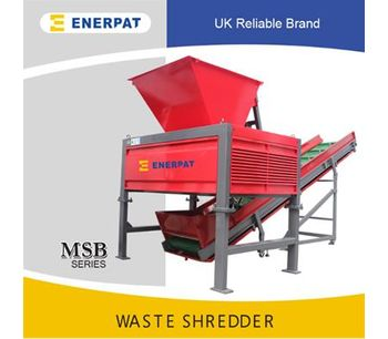 Enerpat - Model ES-S1050 - Medical Waste Shredder
