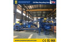 Enerpat - Model SSL6000 - Scrap Metal Recycling Plant