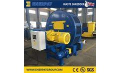 Enerpat - Model TDF - Tire Recycling Line