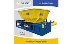 ENERPAT - Model AMB - Hopper Type Automatic Light Metal Baler
