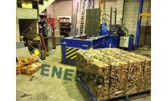 ENERPAT - Model SMB-EE160S - Copper Tubes Baler