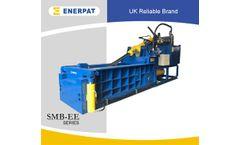 Enerpat - Model SBM-EE - Front Ejection Metal Balers