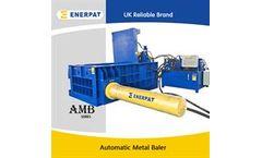 Enerpat - Model AMB250 - Automatic 3 Ram Metal Baler