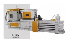 Enerpat - Model HBA80-11075 - Fully Automatic Horizontal Baler