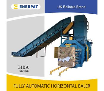 Fully Automatic Horizontal Baler-1