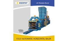 Enerpat - Automatic Horizontal Boxboard Baler