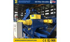 Enerpat - Oil Filter Recycling Line
