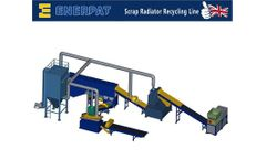 Enerpat - Model SSL400 - Waste Radiator Recycling Plant