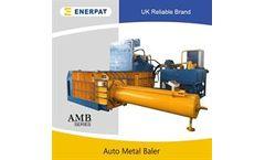 Enerpat - Model AMB-160T - Automatic Aluminum Cans Baler
