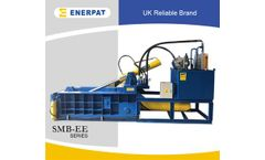 Enerpat - Model EE160S - Non Ferrous Metal Baler