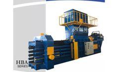 Enerpat - Model HBA150-110130 - OCC Fully Automatic Horizontal Bale