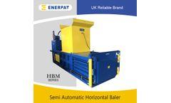Enerpat - Model HBM100S - Horizontal Baling Press