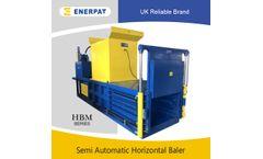 Enerpat - Model HBM125S - Horizontal Baling Press