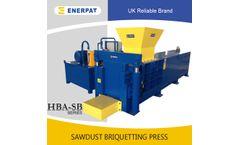 Enerpat - Model HBA-SB220 - Sawdust Baler