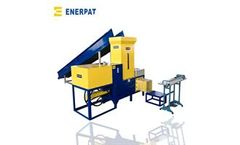 Enerpat - Model HBA-B60 - Rice Husk Baler