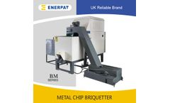Enerpat - Model BM500 - Copper Chips Briquetting Press Machines