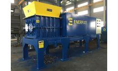 Enerpat - Model MSB-E74 - Twin shafts shredder