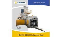 Enerpat - Model HBA150-110130 - Full Automatic Waste Paper Baler