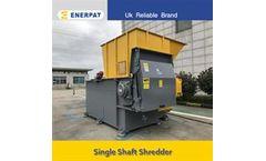 Enerpat - Model MSA-F - PE Film Shredder