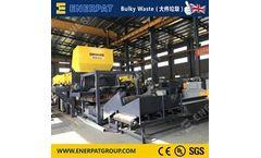 Enerpat - Model MSB-E110 - Waste Mattress Shredder