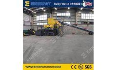 Enerpat - Model MSB-E110 - Bulky Waste Shredder