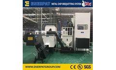 Enerpat - Model VBM-250 - Aluminum Swarf Briquetting Press Machine