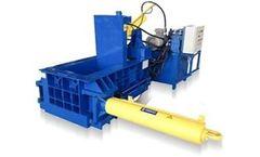 Enerpat - Model AMB2525 - Automatic Metal Baler