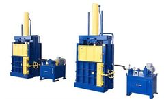 Enerpat - Model VB-100 - Vertical Textile Balers