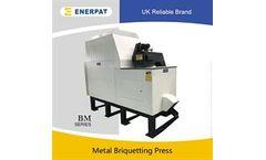 Enerpat - Model BM160 - Metal Shavings Briquetting Press