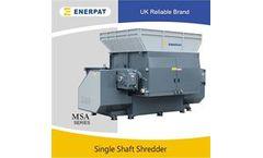 Enerpat - Model MSA-TW - Plastic Film Shredder