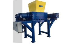 Enerpat - Model MSB-E60 - High Quality Commercial Two Shaft Shredder for Non Ferrous Scrap Metal