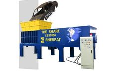 Enerpat - Model MSB-E2400 - Shark Scrap Car Shredder