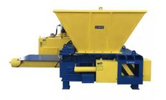 Enerpat - Model AMB-H1075 - Hopper Style Automatic Scrap Metal Balers