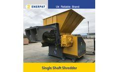 ENERPAT - Model   MSA-F - PVC Strand Lumps Shredding Machine