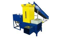 Enerpat - Model HBA-B60 - Plastic Shavings Bagging Baler Machine