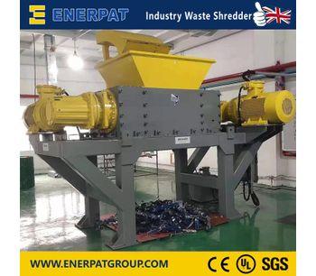 Enerpat - Model MSB-E - Two Shafts Shredders