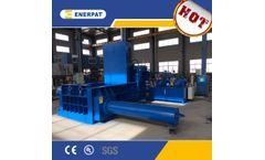 Enerpat - Model AMB - Automatic IBC Container Press Baler