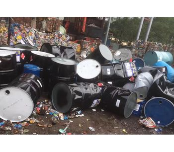 Metal Drums Shredder-3