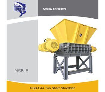 Enerpat - Model MSB-E44 - Metal Drums Shredder