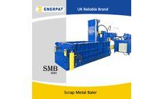 Enerpat - Model SMB-F160L - Scrap Metal Compactor