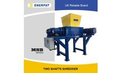 Enerpat - Model the shark - White goods shredder