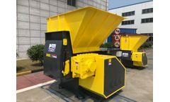 Enerpat - Model MSA-F - Wood pallet shredder